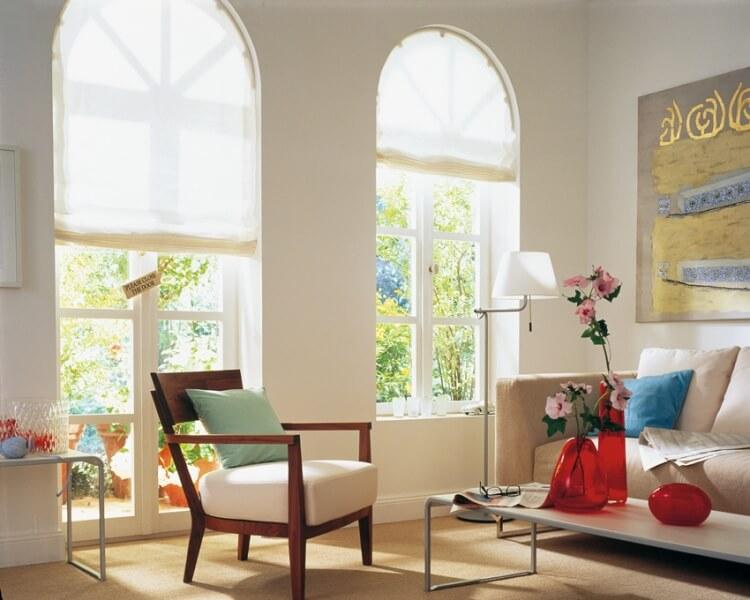 raffrollo spin dekorativer sonnenschutz von mhz tkm madzar. Black Bedroom Furniture Sets. Home Design Ideas