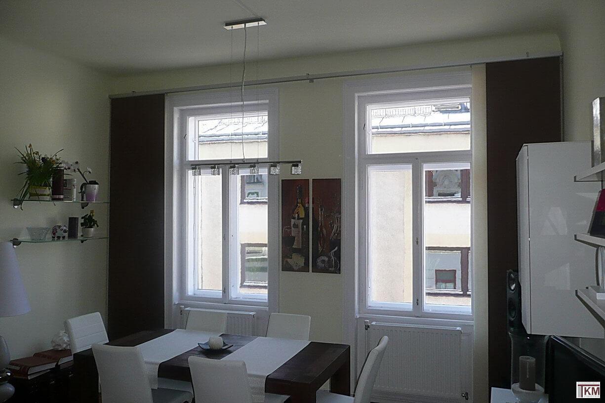 flaechenvorhang swalif. Black Bedroom Furniture Sets. Home Design Ideas