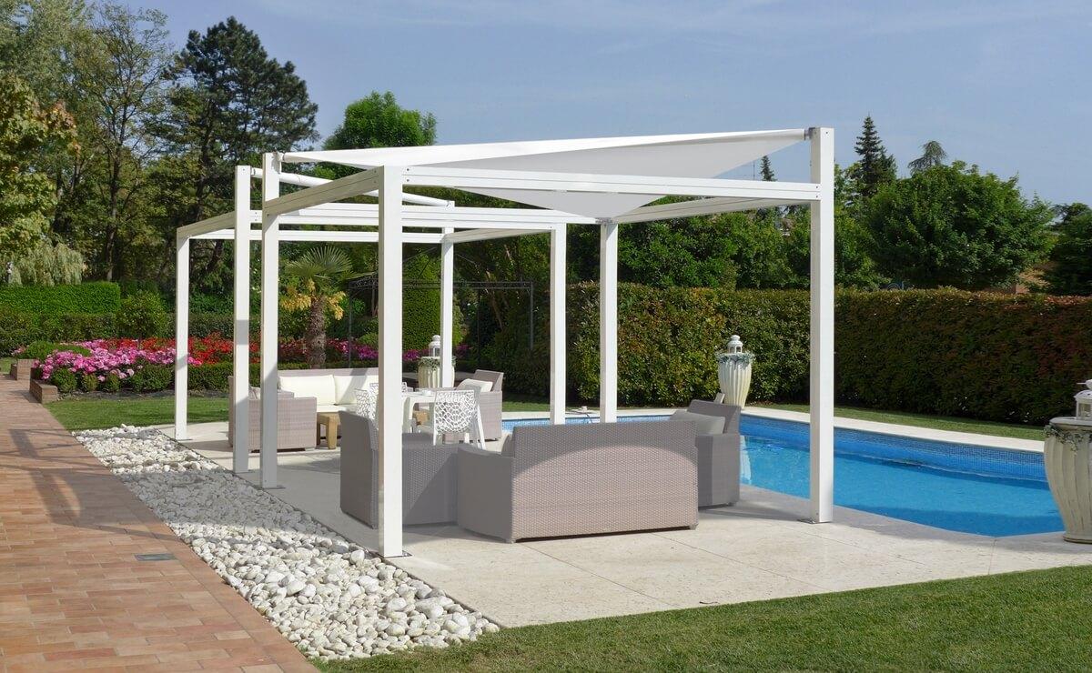 pergola terrassen system tkm madzar. Black Bedroom Furniture Sets. Home Design Ideas