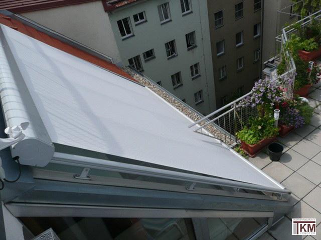 Dachbeschattungen Wintergartenbeschattungen