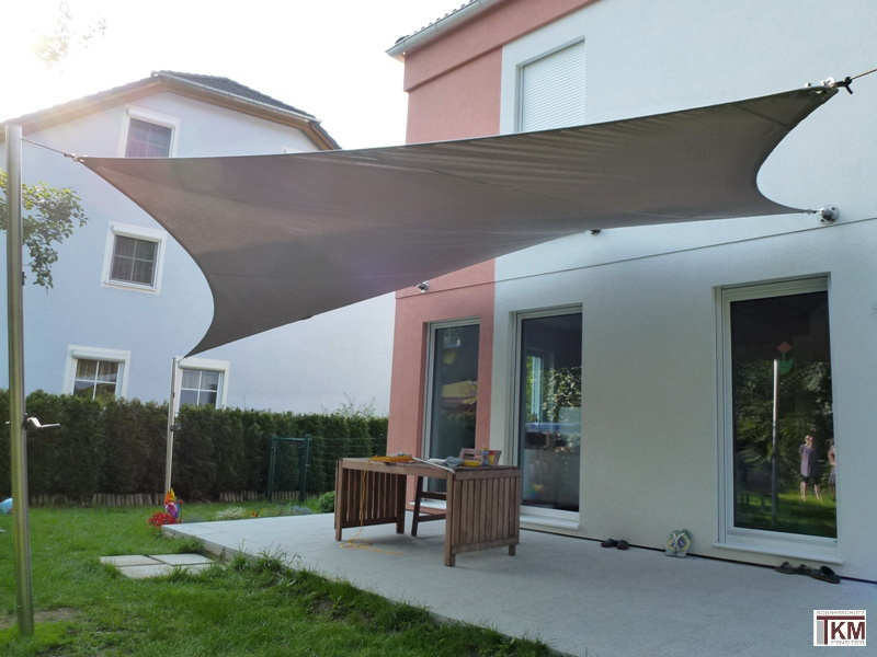sonnensegel terrassenbeschattung segel aus soltis tkm. Black Bedroom Furniture Sets. Home Design Ideas