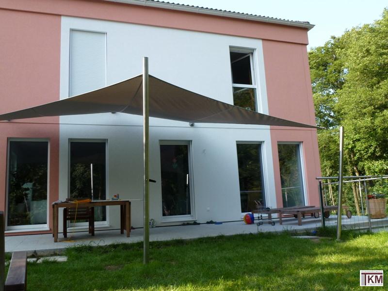 sonnensegel terrassenbeschattung segel aus soltis tkm klaus madzar. Black Bedroom Furniture Sets. Home Design Ideas